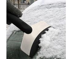 LEORX Auto Neve Ghiaccio Tritaghiaccio Pala pulito strumento di soppressione (Nero)