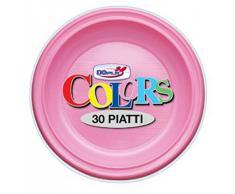 Piatti Piani X 30 Rosa