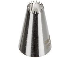 Ibili 250208 - Bocchetta per sac-à-poche, a stella a più punte, 8 mm