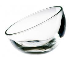 La Rochere 617801bubble - Set di 6 coppe per gelato semisferiche, da 13 cl, in vetro, con lato piatto per appoggio, colore: Trasparente