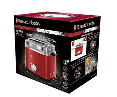 Russell Hobbs 21680-56 Retro Collection Tostapane, Rosso