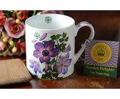 Creative Tops - Tazza in porcellana, serie Royal Botanic Gardens, pianta: Kew Clematis