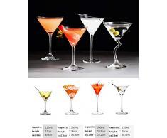 coolter Bicchieri da Coppa Cocktail Martini Grande in Bicchiere in Vetro Martini in Cristallo Buona qualità Occhiali Margarita di Grande Valore Vintage