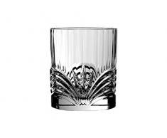 RCR Bicchieri da Whisky Aurea / 280 ml / Lavabili in lavastoviglie / adatti a massimo 6 Persone