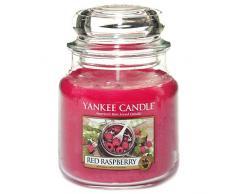 Yankee Candle Candela a Vaso Medio, Red Raspberry