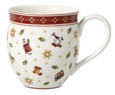 Villeroy & Boch Toys Delight Mug, Porcellana, Rosso, 28 x 25 x 10 cm