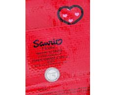 Hello Kitty - Borsa per la spesa in plastica decorata 25 x 30 x 12 cm