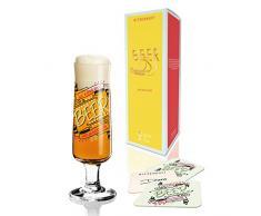 Ritzenhoff 3220014 Disegno bicchiere di birra con sottobicchieri, Dorothee Kupitz, autunno 2015