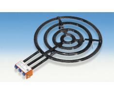 Piano cottura per paella, 3 fiamme, 4 anelli, diametro: 70 cm, potenza 33,85 kW Per padelle per paella, Made in Spain Adatto a padelle, piastre, pentola, wok etc