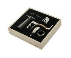 LEGNOART - Memorabile Set Sommelier Composto Da 7 Accessori