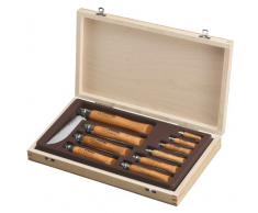 Opinel, Set di coltelli in scatola di legno