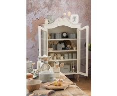 Kitchen Craft Living Nostalgia - Barattolo per Zucchero, 17 cm, Grigio Francese