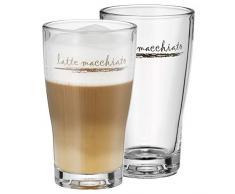WMF 954142040 Barista Latte Macchiato set da 2 Bicchieri, Modelli Assortiti