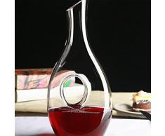 pengweiSenza piombo cristallo brocca di vino punti decanter per il vino in casa del vino , 4