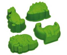 Kitchen Craft Lets Make - Formine per dolci a forma di dinosauri, in silicone