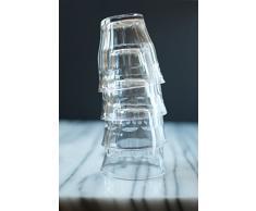 Duralex, Picardie, 6 bicchieri per acqua, 250 ml, Trasparente, in Vetro