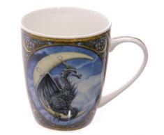 Lisa Parker - Tazza in porcellana fine con disegno di dragone con scatola dimostrativa