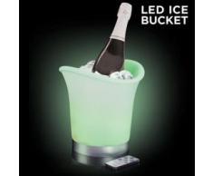 Secchiello porta ghiaccio a LED - multicolor con colore regolabile tramite Telecomando
