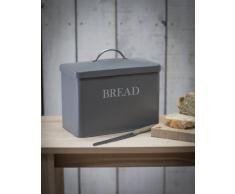 Garden Trading - Contenitore porta pane, in latta, colore: antracite