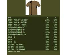 Esercito militare USMC_3rd_Battalion - Stemma islandese tecmil The cutting edge coltello settimo Marines - T-Shirt #11165 nero Small