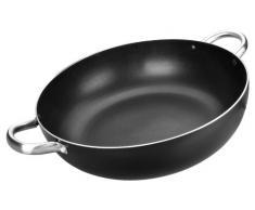 Ibili 403340 I-Chef, Padella con fondo alto e manici, 40 cm