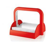 Guzzini Forme Casa 70055-31 Portatovaglioli, Plastica, Rosso