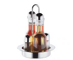 Cilio Menage 550184 - Saliera, pepiera, oliera e acetiera