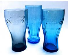 /Coca Cola 0,3 l bicchiere/Original /Mc Donalds/Contour/Arcoroc/Bicchieri/Softdrink/Longdrink/Bicchieri/Gastro/Bar/Party
