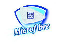 Vileda Panno Ricambio in Microfibra Compatibile con Lavapavimenti 100°C Hot Spray e Steam, 2 Pezzi