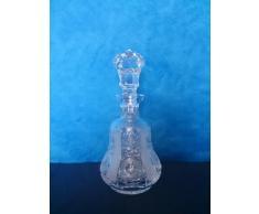 Crystaljulia Caraffa per Vino, Cristallo, 600Â ML, 10,5Â x 10,5Â x 33Â cm