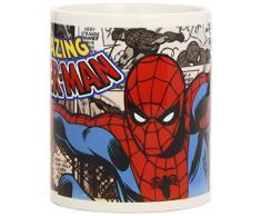 Semic Distribution Marvel Retro Serie 1-Spider-Man Tazza, Multicolore