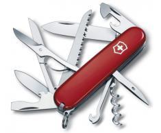 Victorinox 1.3713 Huntsman - Coltellino multiuso, Rosso