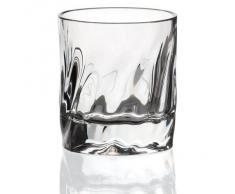 """Bicchiere da whisky, bicchiere cristallo, calice acqua, collezione """"KATARINA SILVER"""", 10 cm, trasparent (GERMAN CRYSTAL powered by CRISTALICA)"""