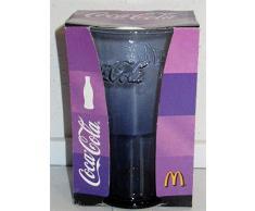 /Coca-Cola / Vetro/Bicchieri/Edizione Limitata/Lilla/MC Donalds / 2008 / Nuovo
