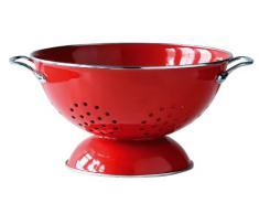 Premier Housewares 0508555 Scolapasta, Rosso