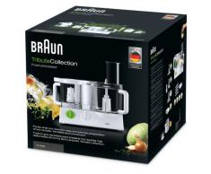 Braun FPX3030 Robot da Cucina Tribute Collection, Bianco/Verde