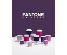 Pantone Tazza di porcellana/silicone, Porcellana, Petunia, 375ml