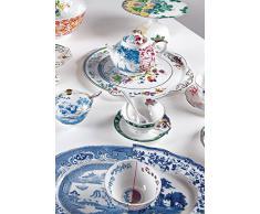 SELETTI Tazza da tè con Piattino in Porcellana Hybrid-Zenobia