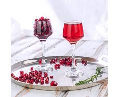 Argon Tableware, Bicchieri da Sherry/Liquore, da 80 ml - Confezione Regalo da 24