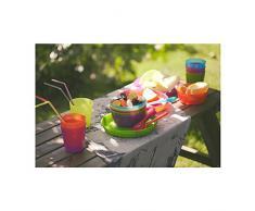Tazze esclusive in plastica, Design moderno, colori assortiti per uso quotidiano e feste