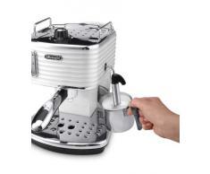 De'Longhi ECZ351.W Macchina per caffè espresso manuale Scultura, 1100 W, Plastica, Bianco