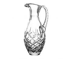 Crystaljulia 04458 Brocca, Cristallo, Trasparente, 12 x 12 x 28 cm