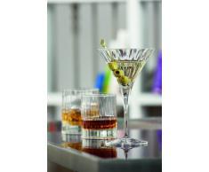 Bormioli Dof Bach Confezione 4 Bicchieri, Vetro, Trasparente, 18x8,5x20 cm, 4 Unità