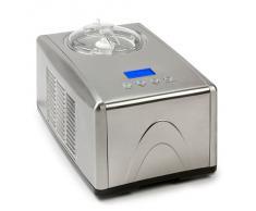 Domo DO9066I Gelatiera compressore 1.5L Acciaio inossidabile macchina per gelato