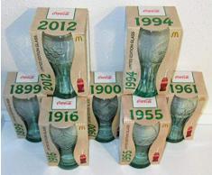 /Coca-Cola/Olympia London/Bicchieri/Edizione Limitata/Set da 7 Pezzi/MC Donalds/Completo!!! !