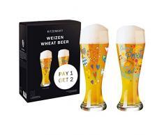 Ritzenhoff 6071003 Set di Bicchieri da Birra frumento, Vetro