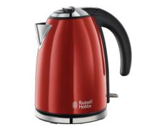 Russell Hobbs 18941-70 Bollitore Colours Flame Red, Rosso