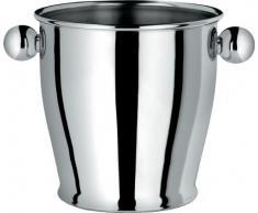 Alessi - CA71 - Secchiello per ghiaccio in acciaio inossidabile 18/10 lucido.