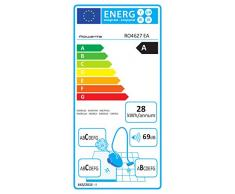 Rowenta - RO4627EA - Silence Force, Aspirapolvere compatto con sacchetto, classe di efficienza energetica: A, colore: Avorio