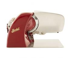 Berkel HSBGS01000000 Home Line Affettatrice, 0.19 W, 70 Decibel, Alluminio, Rosso